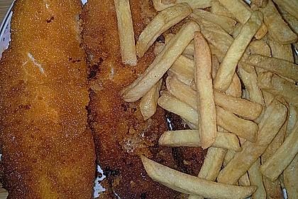 Panierter Seelachs mit Remoulade zu Folienkartoffeln 4
