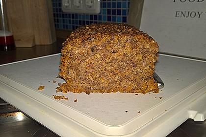 Schneller Nuss-Karottenkuchen mit Xylit