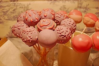 Schokolade-Rum-Marzipan Cake Pops