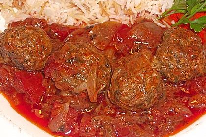 """Arabische Fleischbällchen """"Daoud Basha"""" 3"""