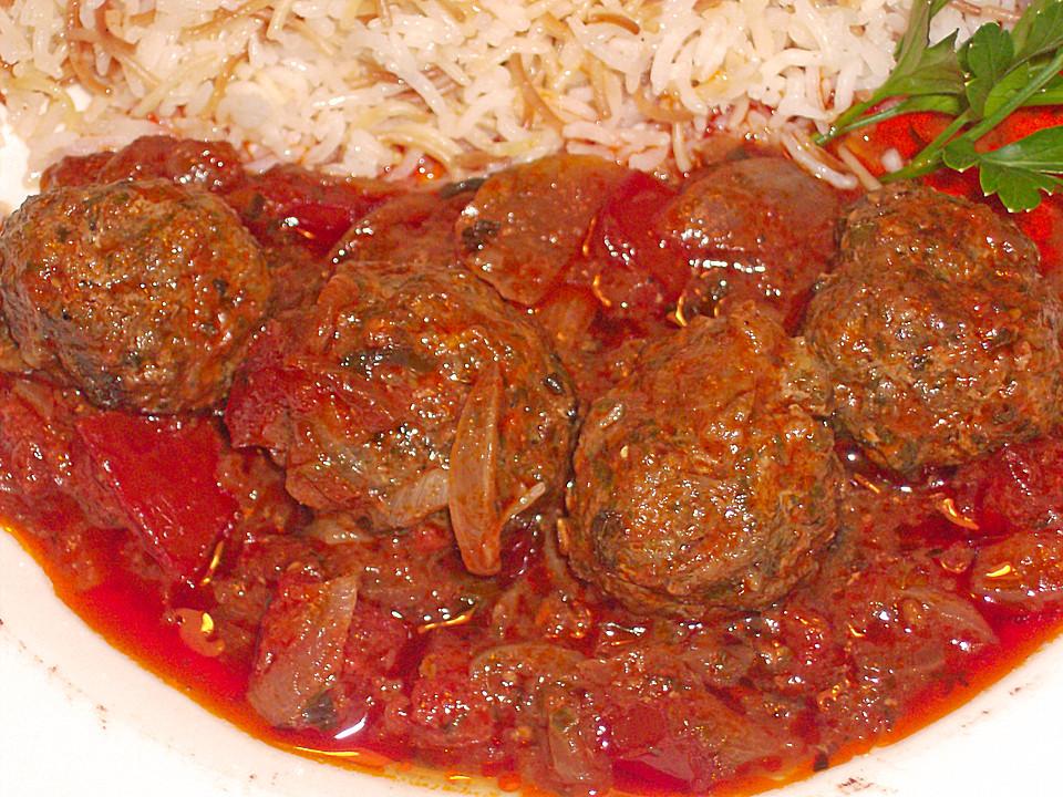 Arabische Fleischbällchen \