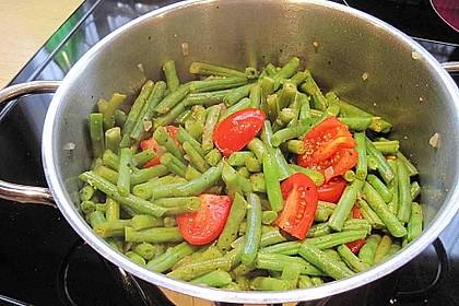 Bohnen-Tomaten-Gemüse 1