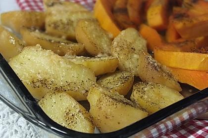 Knusprige Parmesan-Kartoffeln aus dem Ofen