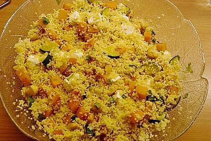 Kürbis-Cashew-Couscous Salat 3