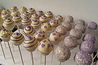 Vanille Cake Pops 8