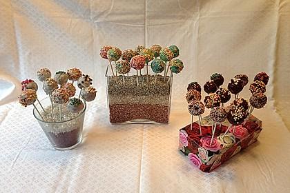 Vanille Cake Pops 25
