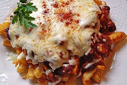 Chili Cheese Fries - perfekter USA Style