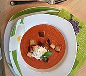Tomatencremesuppe (Bild)