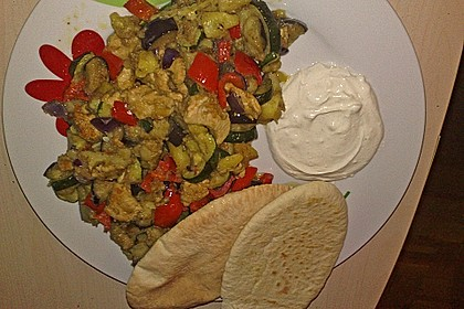 Mediterrane Döner-Gemüsepfanne 1