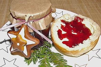 Weihnachtliche Kirschmarmelade 3