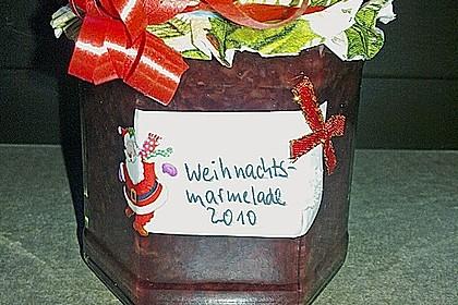 Weihnachtliche Kirschmarmelade 12