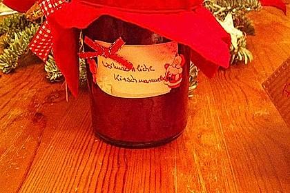 Weihnachtliche Kirschmarmelade 6