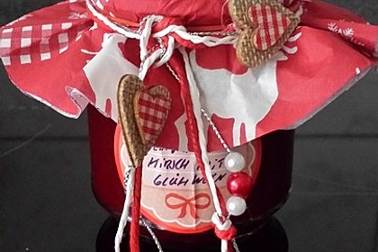 Weihnachtliche Kirschmarmelade