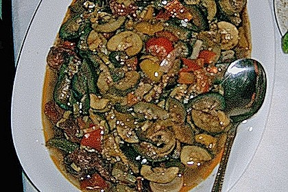 Ratatouille mit Kräutern und Wein 1