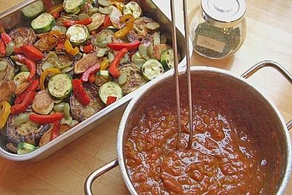 Gemüsepfanne aus dem Ofen 8