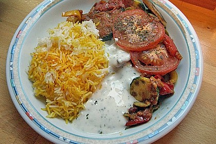 Gemüsepfanne aus dem Ofen 4