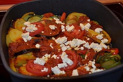 Gemüsepfanne aus dem Ofen 6