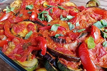 Gemüsepfanne aus dem Ofen 2