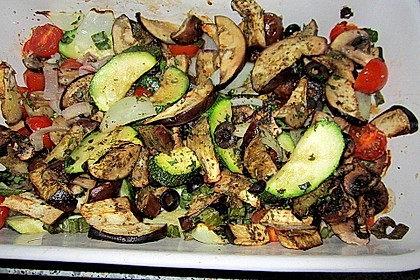 Gemüsepfanne aus dem Ofen 3