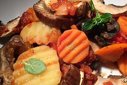 Gemüsepfanne aus dem Ofen 1