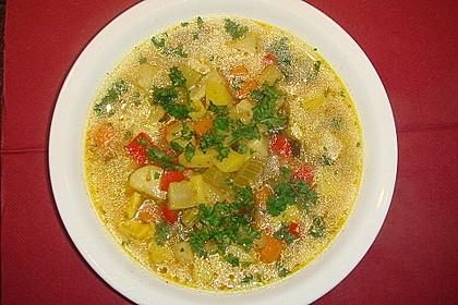 Gemüsesuppe 1