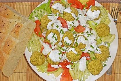 Schnelle Falafel in Pitabrot 37