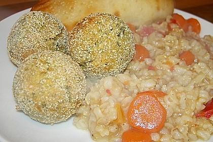 Schnelle Falafel in Pitabrot 18