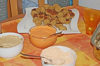 Schnelle Falafel in Pitabrot 58