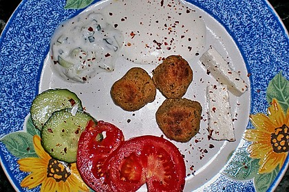 Schnelle Falafel in Pitabrot 45