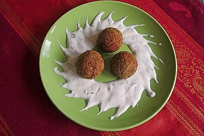 Schnelle Falafel in Pitabrot 9