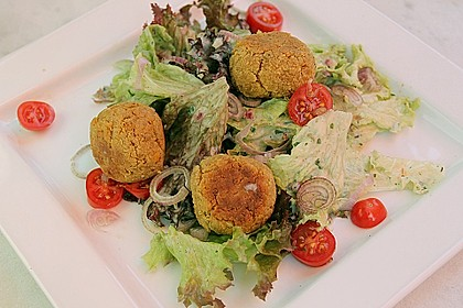 Schnelle Falafel in Pitabrot 10