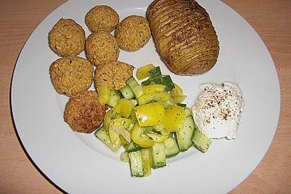 Schnelle Falafel in Pitabrot 20