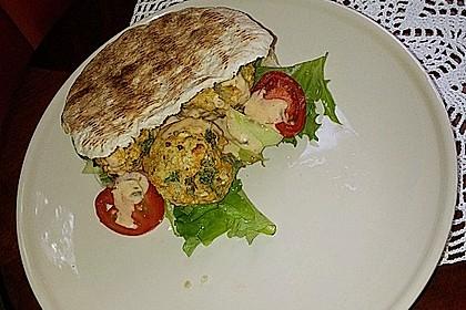 Schnelle Falafel in Pitabrot 31