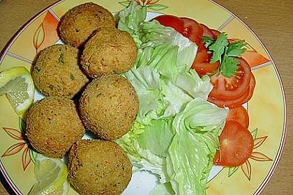 Schnelle Falafel in Pitabrot 17