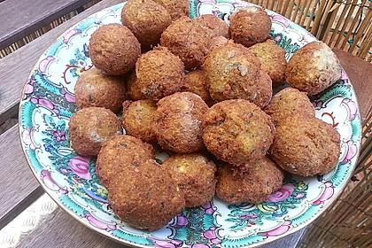 Schnelle Falafel in Pitabrot 16
