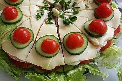 Salattorte (Bild)