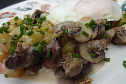 Pilz - Kartoffelpfanne 6
