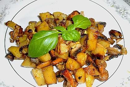 Pilz - Kartoffelpfanne