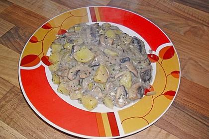Pilz - Kartoffelpfanne 11