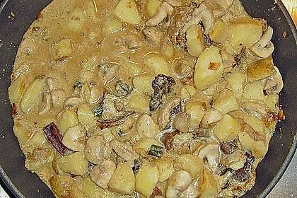 Pilz - Kartoffelpfanne 9