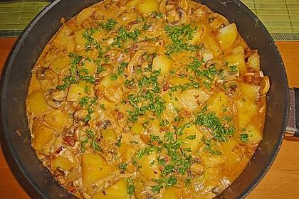 Pilz - Kartoffelpfanne 5