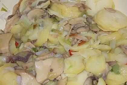 Pilz - Kartoffelpfanne 2
