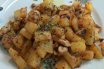 Pilz - Kartoffelpfanne 3