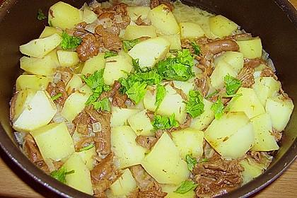 Pilz - Kartoffelpfanne 7