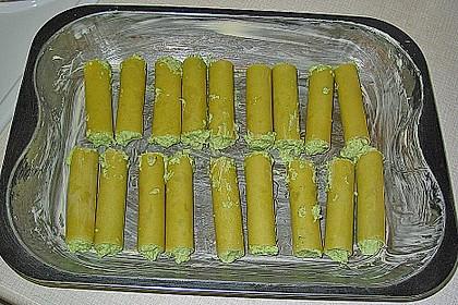 Käse-Brokkoli Cannelloni in Tomatensauce 1