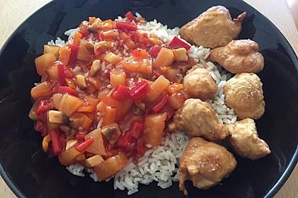 Huhn süß-sauer 8