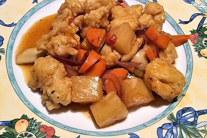 Huhn süß-sauer 15