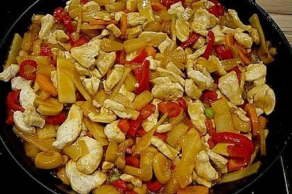 Huhn süß-sauer 30
