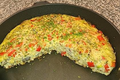 Käse-Omelette (Bild)