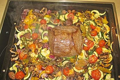 Rinderfilet aus dem Ofen 3